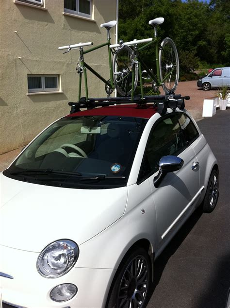 Fiat Luggage Rack by Fiat 500c Lounge 17 Inch Abarth Alloys Roof Rack