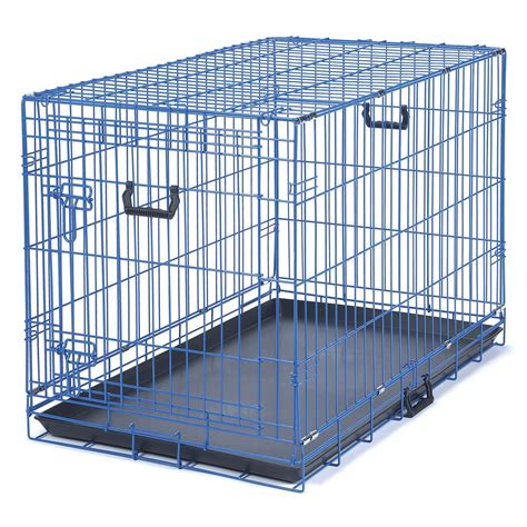 puppy crates petco be appeal color blue crate petco
