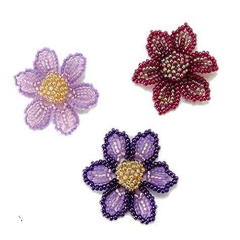 beaded flower pattern 17 best images about beaded flower patterns on