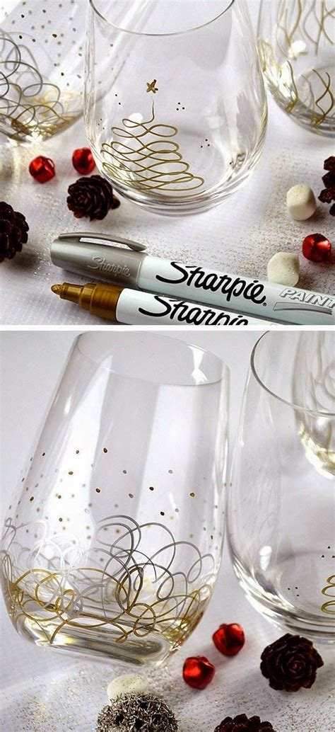 Decorating Glass With Sharpies by 1000 Ideas About Sharpie Glass On