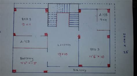 south face duplex house plan youtube
