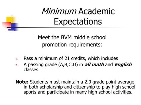 Minimum Gpa To Maintain In Mba School by Ppt Promoting School Success Powerpoint Presentation