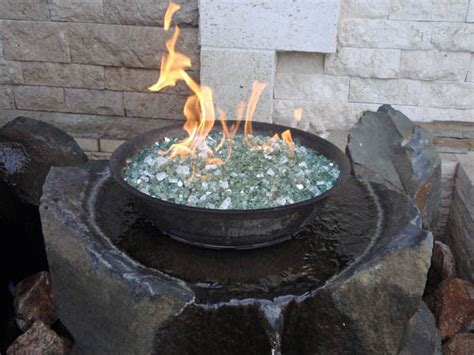 ceramic propane firebowl medium heating