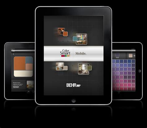 behr paint colors app behr colorsmart app on behance