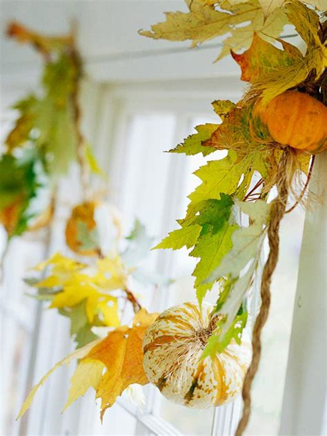 Herbst Girlande Fenster by Herbst Deko Vor Dem Hauseingang Einladende Akzente