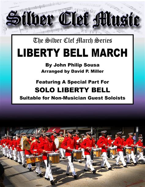 Marching Bell liberty bell march silver clef
