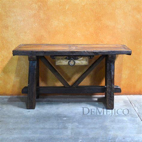 rustic farmhouse console table rustic console table farmhouse console table