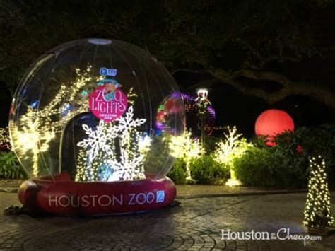 the zoo lights houston day 4 of 12 days of giveaways houston zoo lights