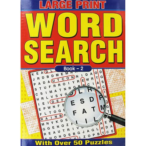 Search On Book Large Print Wordsearch Book 2 By W F Graham Ltd