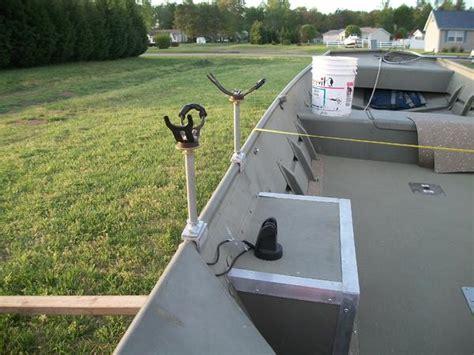 rod holders for aluminum jon boats diy rod holders for jon boat diy do it your self