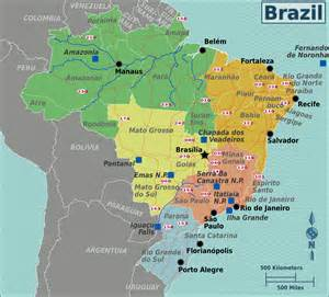 south america brazil map large detailed physical map of australia and oceania with