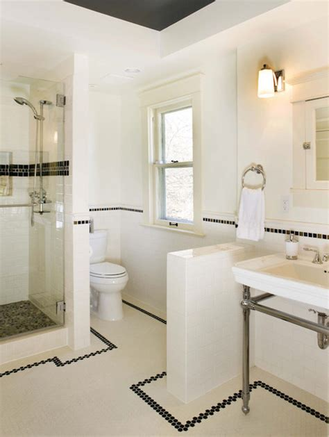 Craftsman Home Interiors Pictures by Classic Bathroom