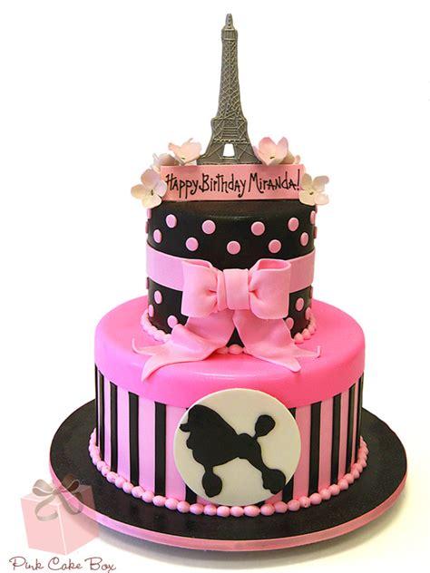 Themed Birthday Cakes by Custom Birthday Cakes In Nj Ny Pa 187 Pink Cake Box