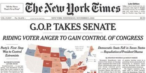 new york times primary results here s how newspapers covered the midterm election results