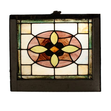 Antique Stained Glass Doors For Sale Charming American Antique Stained Glass Window Nsg67 Rw For Sale Antiques Classifieds