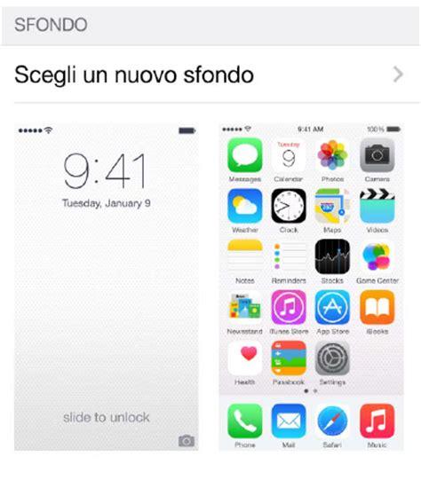 blocco rotazione schermo iphone 6 dphoneworld net come cambiare sfondo su iphone 6 e iphone 6 plus