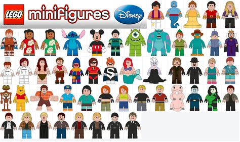 Lego Minifigures Series 12 Complete Set 16 Character news disney princess 2016 lego disney cinderalla castle