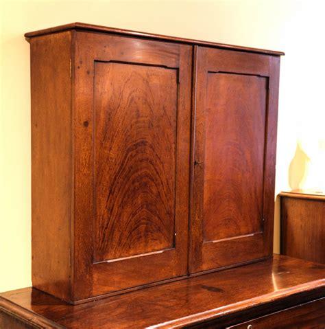 Cedar Cabinet by 19th Century Australian Cedar Desktop Stationery Cabinet