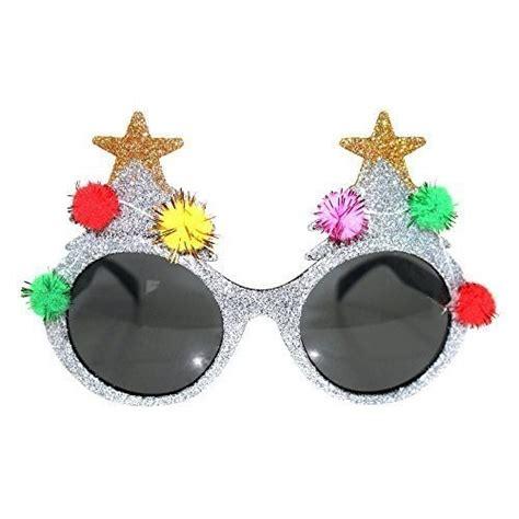 christmas novelty glasses party santa glasses xmas pudding