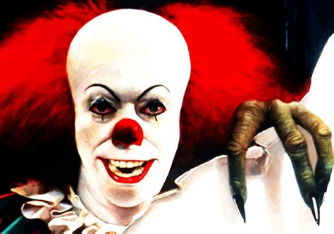 the clown pennywise the clown talk supe