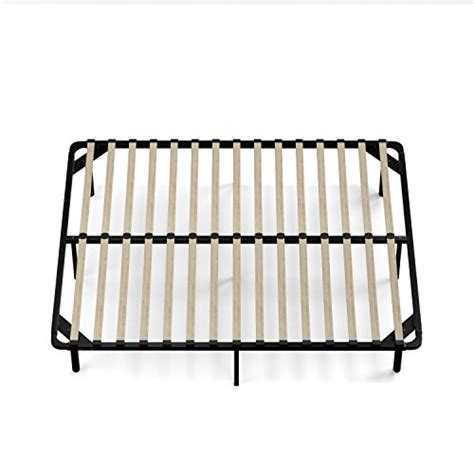 wood slat bed frame queen handy living wood slat bed frame queen import it all