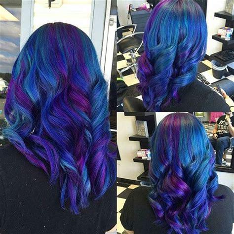 la galaxy colors 20 galaxy hair color ideas the breathtaking