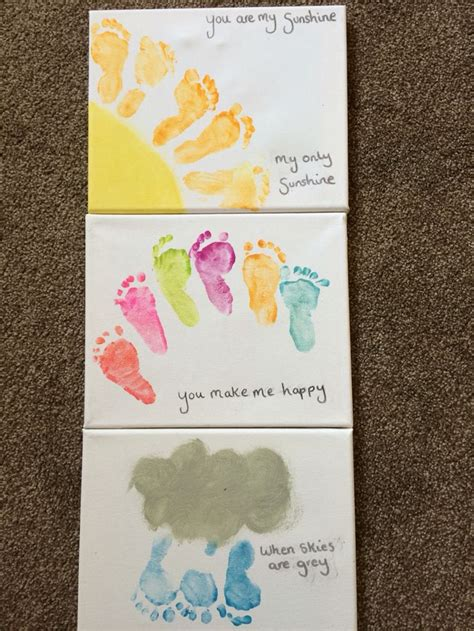 baby craft projects best 25 footprint crafts ideas on baby