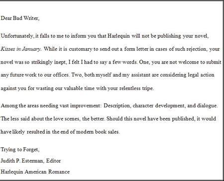 dealing dreaded rejection letter ronald yates