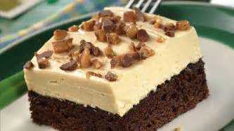 irish cream topped brownie dessert recipe from pillsbury com