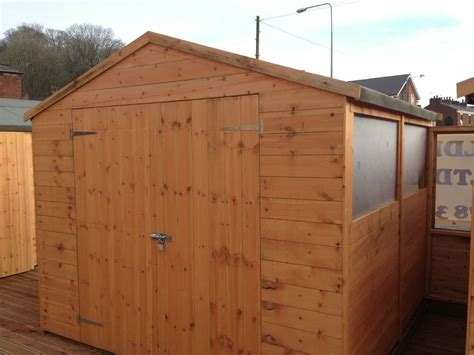 8×10 Wood Storage Shed