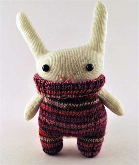 Handmade Toys - by the door stitching handsome handmade soft toys