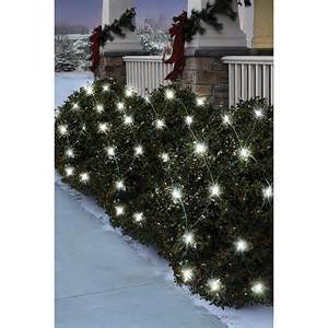 holiday time 70 count led net christmas lights pure white