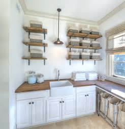 shelves for rooms eye catching laundry room shelving ideas
