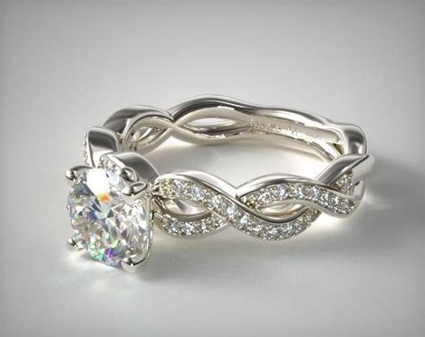 infinity engagement ring set best 25 infinity ring engagement ideas on
