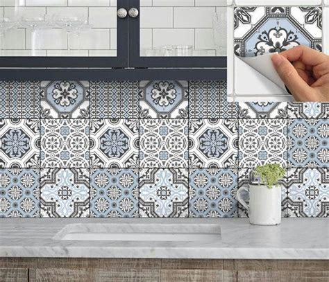 tile decals for kitchen backsplash 25 best ideas about stick on tiles on wood