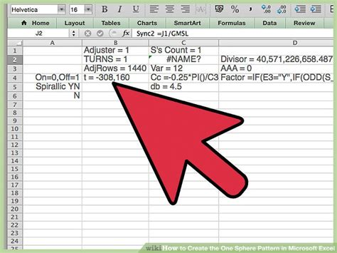 definition pattern exle how to create the one sphere pattern in microsoft excel 9