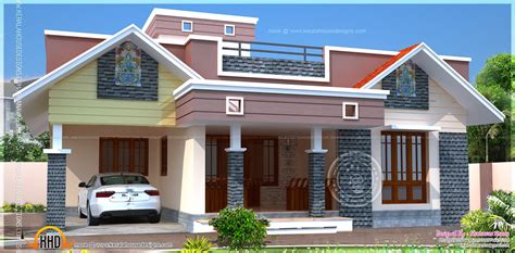 house designing floor plan modern single home indian house plans