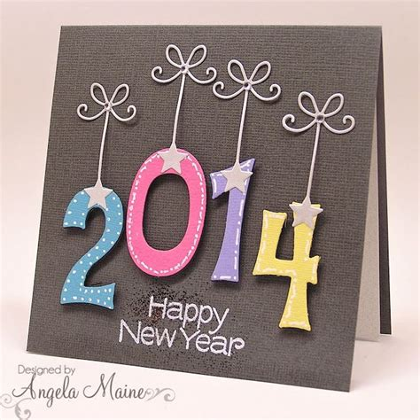 Handmade New Year Cards - happy new year ideas photograph handmade new year card fro