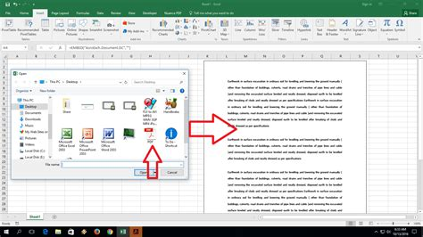 learn new things how to insert add pdf file into ms excel