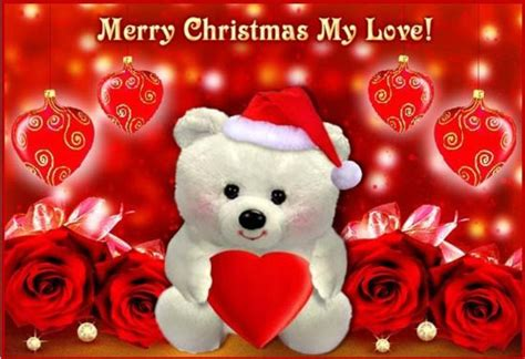christmas messages  girlfriend romantic wishes