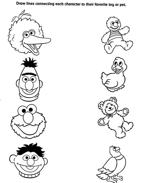 sesame street characters pictures coloring pages rudolph