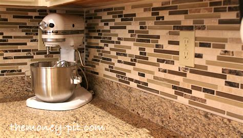 how to do a backsplash installing a pencil tile backsplash and cost breakdown