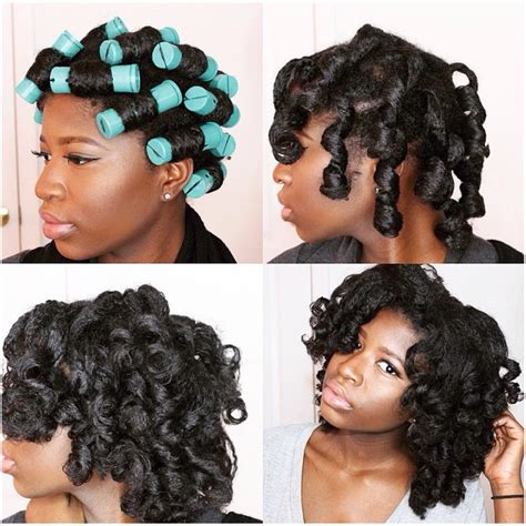 permanent curls for black hair 5 stunning pictorials of perm rod styles black girl with