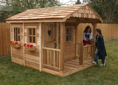 wooden pallet playhouse plans recycled things