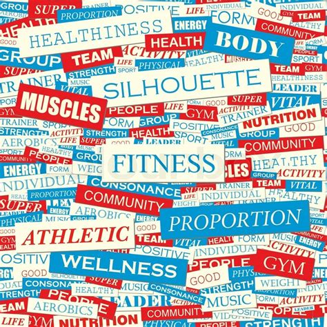 words with pattern in them fitness seamless pattern concept related words in tag