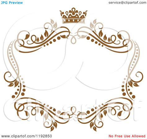 Crown Border Clipart 20 royalty free vector frame images vector borders and frames free royalty free