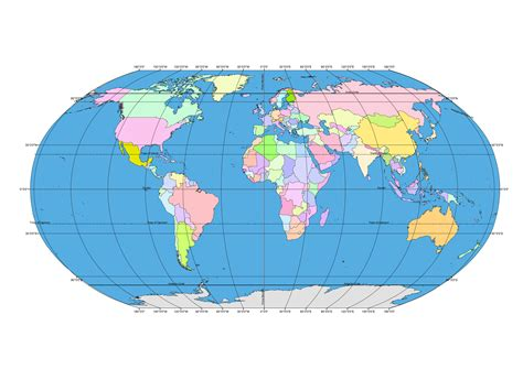 map world globe ellipsoid globe map with latitude longitude ai pdf eps