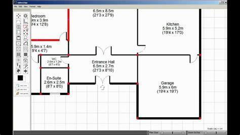 free floorplanner visual floorplanner how to create floorplans fast youtube