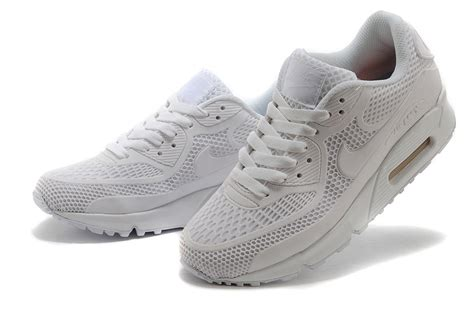 all white athletic shoes nike air max 90 kpu all white mens womens athletic running