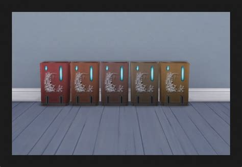 nanocan touchless trash   recolours  simmiller